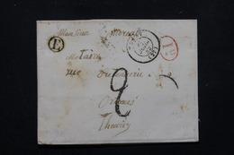 FRANCE - Lettre Pour Orléans En 1842 , Cachet De Facteur E - L 22626 - 1801-1848: Precursors XIX