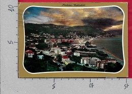 CARTOLINA VG ITALIA - ANDORA (SV) - Notturno - 10 X 15 - ANN. 1973 - Savona