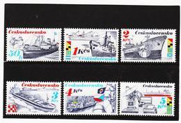 ORY33 TSCHECHOSLOWAKEI 1989 MICHL  2994/99 ** Postfrisch Siehe ABBILDUNG - Tschechoslowakei/CSSR