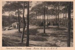 *** 85  ***  SION SUR L'OCEAN  Camp Marin - De La SNCF  Neuve TB - France
