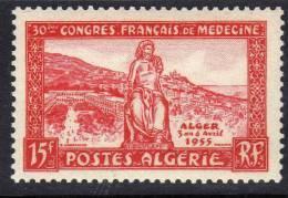 Algérie N° 326 X  30ème Congrès De Medecine à Alger Trace De  Charnière Sinon TB - Algérie (1924-1962)