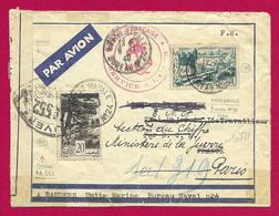 Enveloppe En Franchise Militaire Avec Censure Datée De 1940 - Marine Française - Service à La Mer - Marcophilie (Lettres)