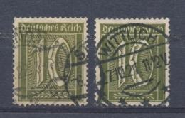 Duitse Rijk/German Empire/Empire Allemand/Deutsche Reich 1921 Mi: 159 A+b? Yt: 139 (Gebr/used/obl/o)(4145) - Deutschland