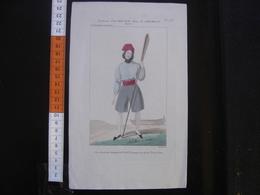 Ancienne Gravure COSTUME D'UN MOUSSE DANS LE SERMENT OPERA 743 Mode Fashion - Posters