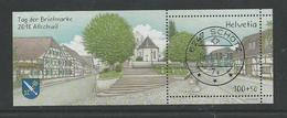 2018 Journée Du Timbre OBLITÉRATION PLEINE DE LUXE (1901) - Schweiz