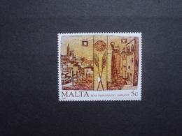Malta    Mitläufer  Europäisches Jahr Der Umwelt   1987       ** - Europäischer Gedanke