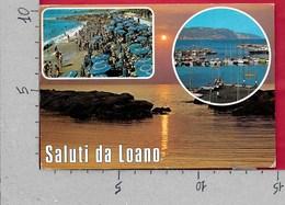 CARTOLINA VG ITALIA - Saluti Da LOANO (SV) - Vedutine Multivue - 10 X 15 - ANN. 1981 - Saluti Da.../ Gruss Aus...