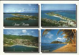 "Saint Marin - Marigot - 2 Timbres De ""Saint Lucia"" De 1996 Et 1997 - Saint-Martin"