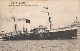 CPA - Thèmes - Transports - Bateaux - SS J.Lamone - Paquebot De La Compagnie Fraissinet - Paquebots
