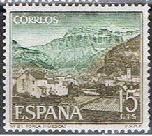 ESPAÑA E 133 // YVERT 1381 // EDIFIL 1727 // TORLA // 1966 ... NEUF - 1931-Aujourd'hui: II. République - ....Juan Carlos I