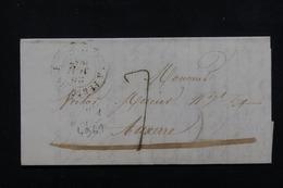 FRANCE - Lettre De La Ferté Macé Pour Auxerre En 1845 - L 22628 - 1801-1848: Precursors XIX