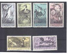 EIL305  TSCHECHOSLOWAKEI CSSR 1960  MICHL  1228/33  ** Postfrisch  SIEHE ABBILDUNG - Tschechoslowakei/CSSR