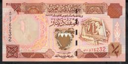 BAHRAIN P18b 1/2 DINAR 1998 UNC. - Bahrein
