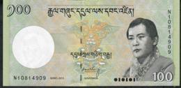 BHUTAN P32c 100 NGULTRUM 2015  UNC. - Bhutan