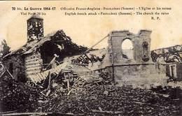 80 - FEUILLERES - Offensive Franco-Anglaise - L'Eglise Et Les Ruines  - - France