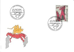 FDC Europa - CEPT  Suisse 1997 - Europa-CEPT