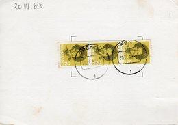 20 VI 83 Verzoek Tot Bewaren Van Poststukken Van OPENDE - Storia Postale