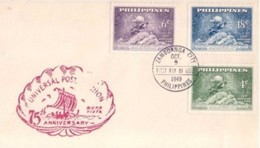 FILIPPINE - 9 10 1949 FDC UPU - U.P.U.