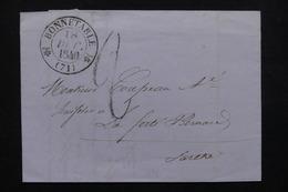 FRANCE - Lettre De Bonnetable Pour La Ferté Bernard  En 1840 - L 22633 - 1801-1848: Precursors XIX