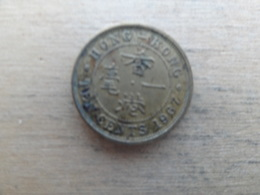 Hong-kong  10 Cents  1967  Km 28.1 - Hong Kong