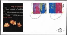 1995 - NEDERLAND - FDC - SG 1776/1777 [Cabaret] + DEN HAAG - FDC