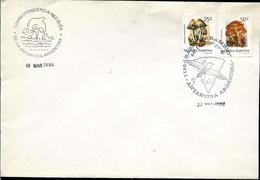 AANT-171 ARGENTINA 1996 ANTARCTICA ANTARCTIQUE MARAMBIO STATION COVER - Bases Antarctiques