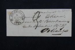 FRANCE - Lettre De Angerville Pour Orléans En 1839 - L 22634 - 1801-1848: Precursors XIX