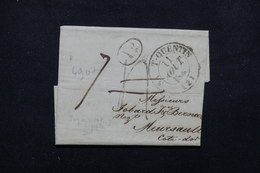 FRANCE - Lettre De Saint Quentin Pour Meursault En 1838 - L 22635 - 1801-1848: Precursors XIX