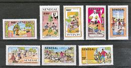 Sénégal  980 983 Et 984 987 Investissement Humain Et Reboisement Neuf ** TB MNH Sin Charnela - Sénégal (1960-...)