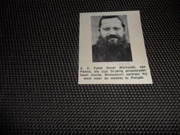 """Origineel Knipsel ( 2426 ) Uit Tijdschrift """" Ons Volk """"  1936  :   Pamel - Vieux Papiers"""