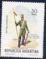 Military Uniforms - Argentina 1977 -  Stamp MNH** - Militaria