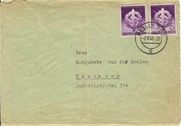 Deutsches Reich - Mi-Nr 818 Umschlag Echt Gelaufen / Cover Used (A805) - Deutschland