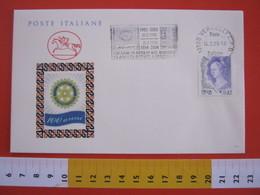 A.08 ITALIA ANNULLO - 2004 VERCELLI TARGHETTA 100 ANNI ROTARY CLUB  INTERNATIONAL E 50 ANNI A VERCELLI - Rotary, Lions Club