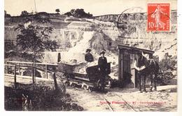 93 Neuilly Plaisance - Carrières Dagogue. Très Animée, Tb état Datée 1908. - Neuilly Plaisance