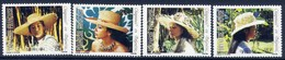 Hats - French Polynesia 1984 -  Set MNH** - Cultures