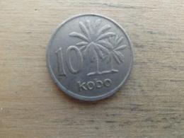 Nigeria  10  Kobo  1974 Km 10.1 - Nigeria