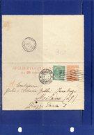 ##(DAN192)-1923-Biglietto Postale Cent.20 Cat.Filagrano B15  Da Milano Per Città - 1900-44 Vittorio Emanuele III