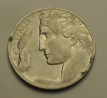 1912 - Italie - Italy - 20 CENTESIMI, (R), VITTORIO EMANUELE III, KM 44 - 1861-1946 : Koninkrijk