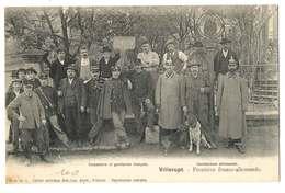 VILLERUPT -FRONTIERE DOUANIERS ET GENDARMES FRANCAIS - Francia
