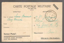 Poste Aux Armées 1940 Sur Carte Illustrée, Adressé à La Jour Du Py - Marcophilie (Lettres)