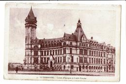 CPA - Carte Postale -Luxembourg - Caisse D'épargne Et Crédit Froncier-1921-VM545 - Luxembourg - Ville