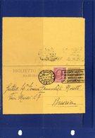 ##(DAN192)-1926-Biglietto Postale Cent.50 Cat.Filagrano B18  Mill.23   Da Torino Per Brescia - Interi Postali