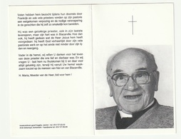 Doodsprentje Gerard VERYSER Verstraete Werken 1906 Roeselare 1994 Priester Evreux Blacarville - Devotion Images