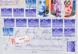 25 III 80   Aangetekende Brief Van AALTEN Naar Frankfurt - Periodo 1980 - ... (Beatrix)