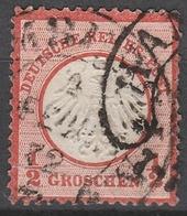 Deutsches Reich    .     Michel       .     3    .       O   .  Gebraucht - Deutschland