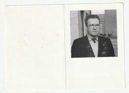 Doodsprentje Pater Frans VERHELST Missionaris Van Scheut Heule 1929 Priester Zaïre Torhout 1997 - Devotion Images