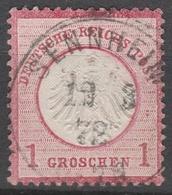 Deutsches Reich    .     Michel       .    4    .       O   .  Gebraucht - Deutschland