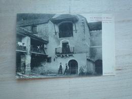 1911 LES PYRENEES TORLA HAUT ARAGON LA CASA VIU  CIRCULÉE DOS DIVISE ETAT BON - Espagne