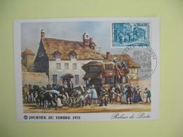 Carte  - Journée Du Timbre  1973  Caudry - France