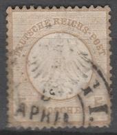 Deutsches Reich    .     Michel       .    6       .       O        .      Gebraucht - Deutschland